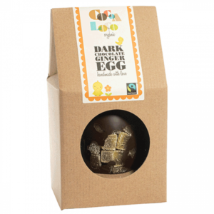 Dark chocolate ginger easter egg